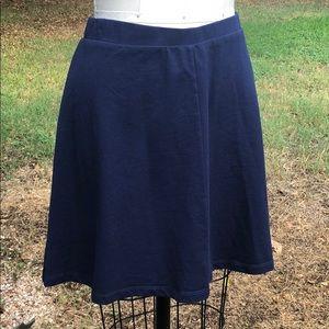 Draper James Navy Skirt. Size L